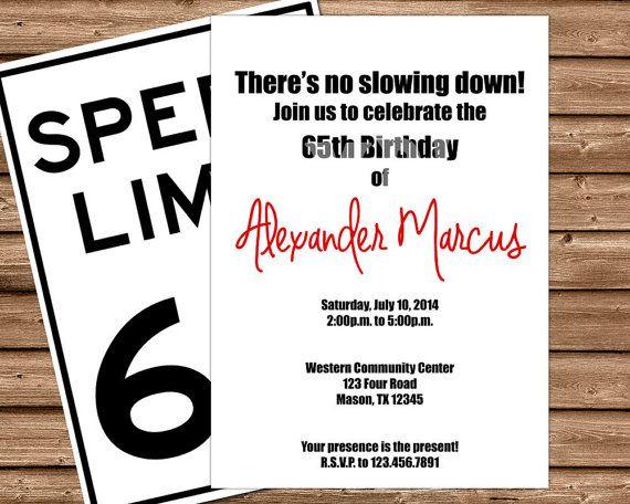 The 25 best Funny birthday invitations ideas – Mens 40th Birthday Invitations
