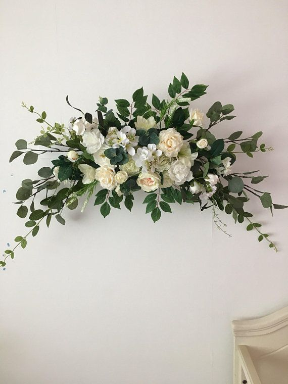 Wedding Arch Flower Decor Fl Swag Eucalyptus
