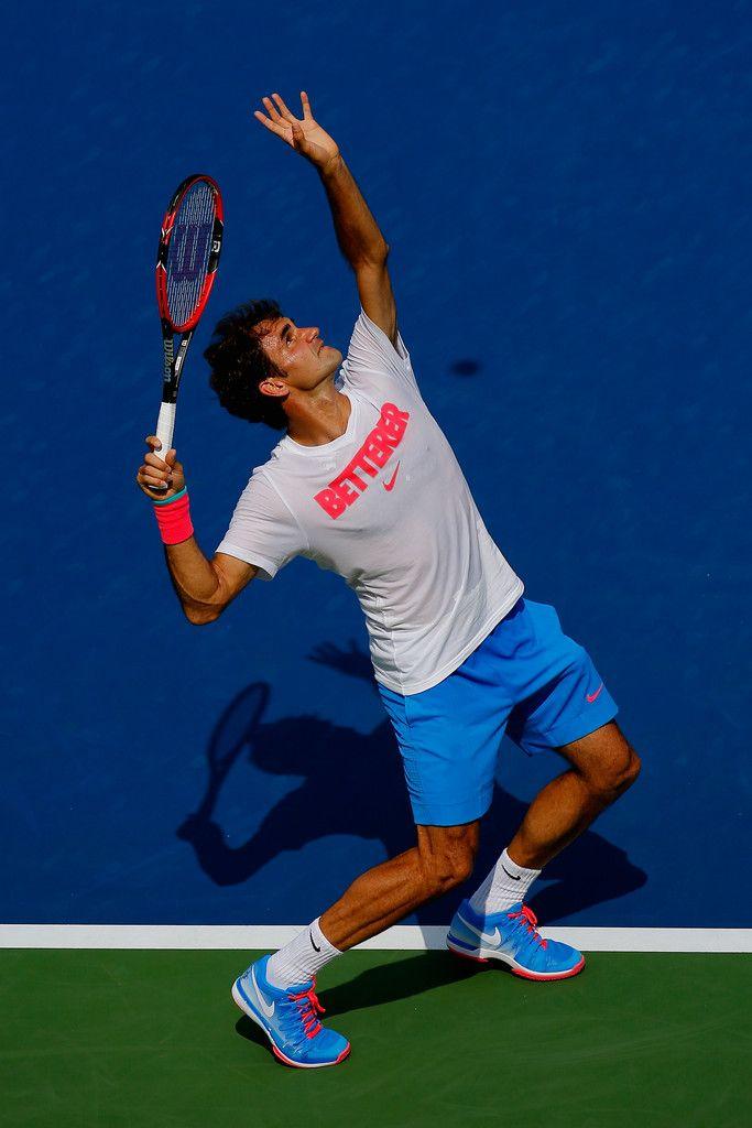 Roger Federer Photos: US Open: Previews