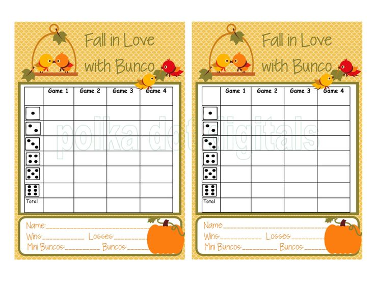 The 25+ best Bunco score sheets ideas on Pinterest Bunco party - tennis score sheet