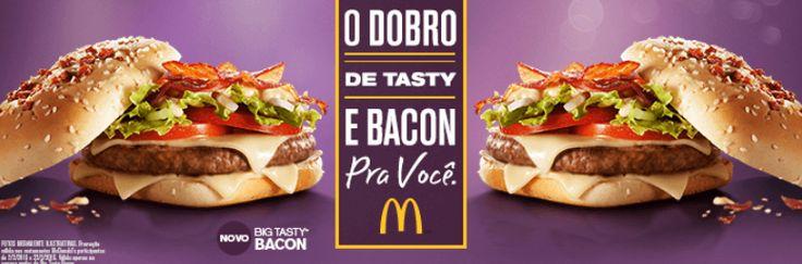 McDonalds - 2 Big Tasty Bacon pelo preço de 1