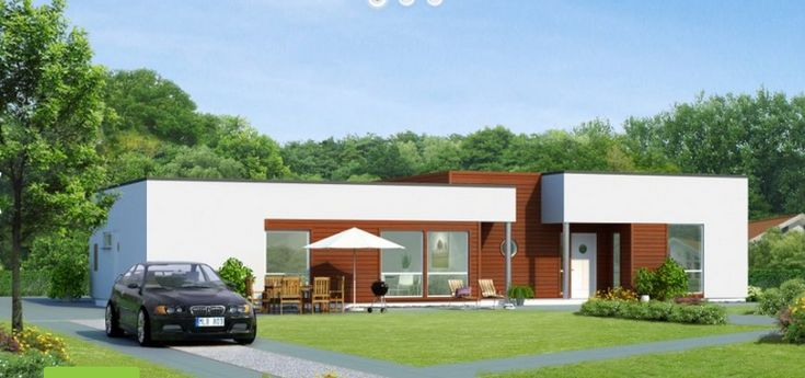 Contemporary house plans single story new build designs for Single story modern home design