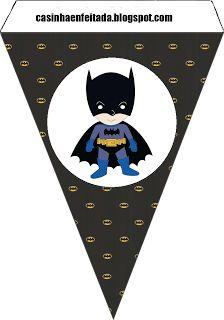 Charming Child: Party Kit Batman Print For Free
