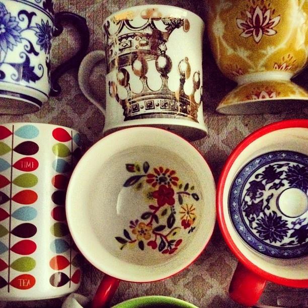 pretty tea cupsTeas Cups, Interiors Design, Tea Cups, Teacups