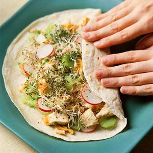 Asian Chicken Salad Sandwiches Recipe
