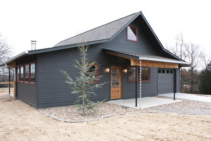 Fine Metal Cottage House For a Couple or Mid-Sized Family! (10 Pictures) | Metal-Building-Homes.com