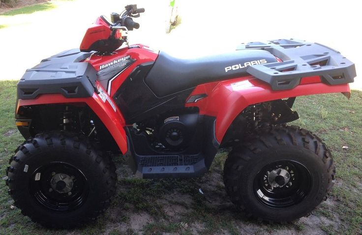 Polaris Hawkeye 400 H.O. 2012 Quad Bike ATV Almost Brand New