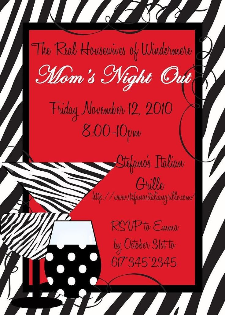 31 best passionfun party images on pinterest 30 years moms night out birthday party bridal shower girls night out invitation cistomizable stopboris Gallery