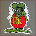 Rat Fink sticker decal vinyl  bike ca...