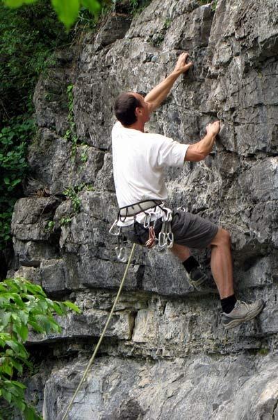 Italien - Idro See Klettern Climbing near Lake Idro, Italy
