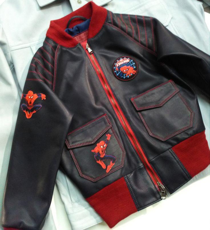 Leather jacket for the little young man Walter  #handmade #handcraft #atelierclasse #florence #madeinitaly #newcreation #leatherjacket #leather #python #calfskin #lambskin #bags #purse #pochette #jacket #man #woman #pants #skirt #dress #coat #custommade #leathergoods #spring