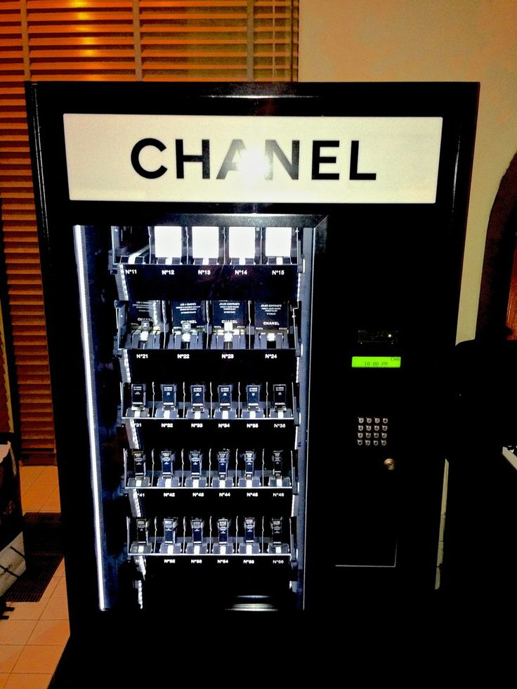 Chanel Vending Machine  http://www.wmagazine.com/fashion/giovanna-battaglia-journal/2013/07/giovanna-battaglia-travel-journal-august-2013/photos/slide/7