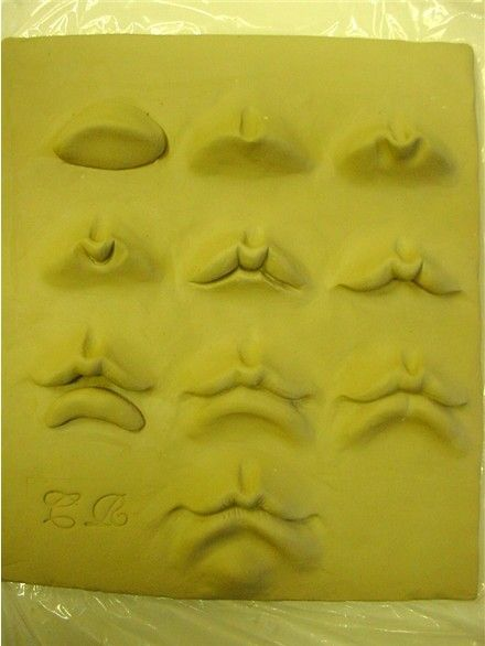 sculpting mouth: