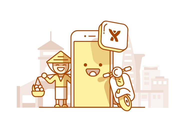 An illustration I created today for the Mobile team in Saigon. The illustration captures traditional Saigon meets new, using tones of red based on the flag. Keen to hear your thoughts and don't fo...