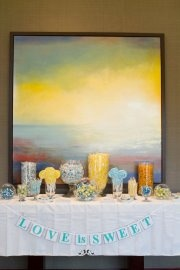 teal, yellow, orange: Love Is Sweet, Teal Yellow, Bridal Shower, Shower Ideas Gifts