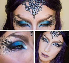 maquillage halloween elfe