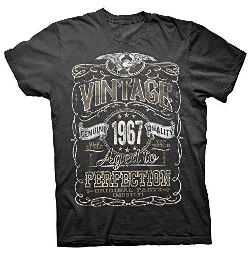 Vintage Aged To Perfection 1967 - Distressed Print - 50th Birthday Gift T-shirt ShirtInvaders, | https://www.amazon.com/Vintage-Aged-Perfection-1967-Distressed/dp/B010MIRME6/ref=as_li_ss_tl?s=apparel&ie=UTF8&qid=1496770472&sr=1-18&nodeID=7141123011&psd=1&keywords=print&refinements=p_36:1200-99999999&linkCode=ll1&tag=dmitryvarax-20&linkId=569a9c7a30b1fc77b59cb4bd24ca0280