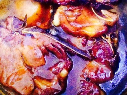 Recette de côtes de porc au curry et au miel