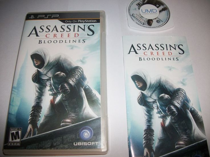 Assassin's Creed Bloodlines Sony PSP 2009 Complete - Works Great - Ships Fast