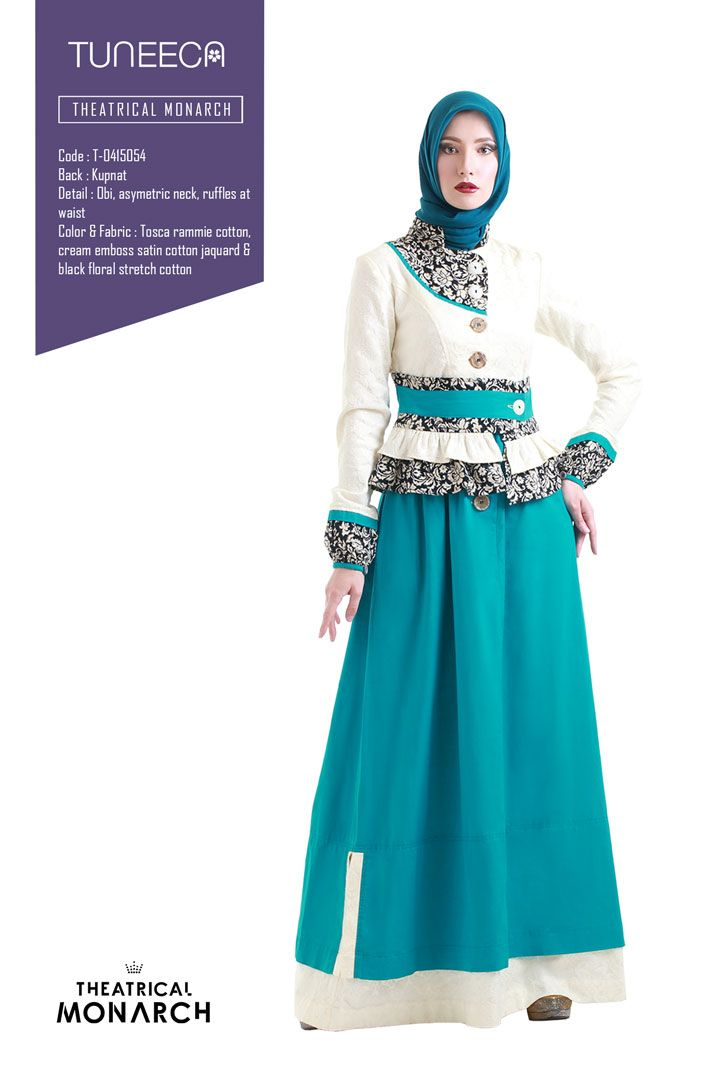The Guardian Queen by Tuneeca  #tuneeca #muslimwear #hijab #fashion #ethnic