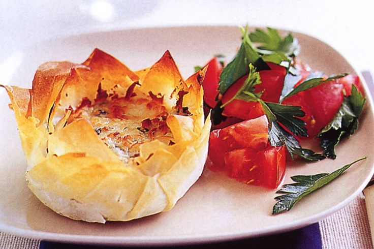 Spinach & cheese pie #pie http://www.taste.com.au/recipes/12402/spinach+cheese+pie