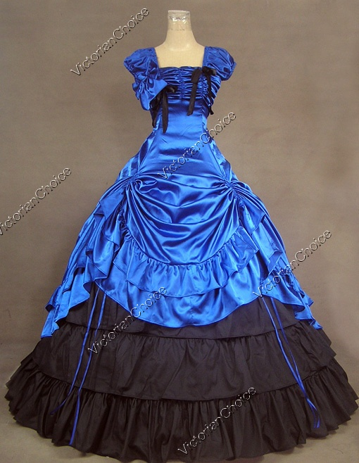 Southern belle ball gown victorian dress