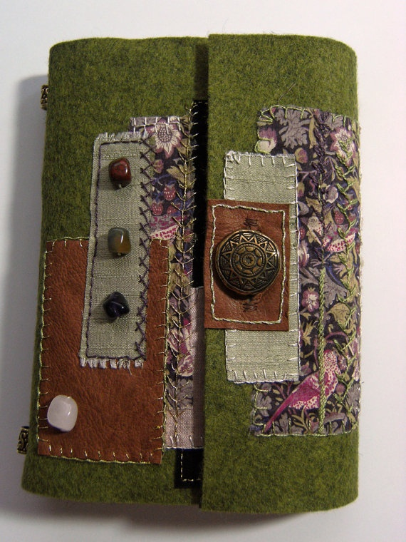 Embroidered Book Cover Tutorial ~ Best felt cover ideas on pinterest diy album