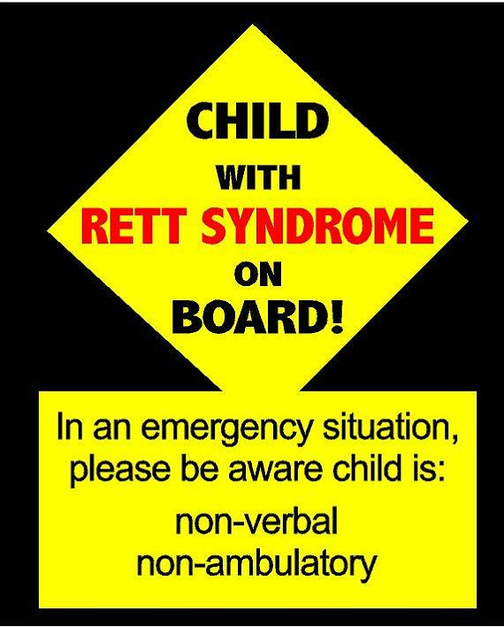 Hey, I found this really awesome Etsy listing at https://www.etsy.com/listing/240671688/emergency-info-decal-rett-syndrome-vinyl