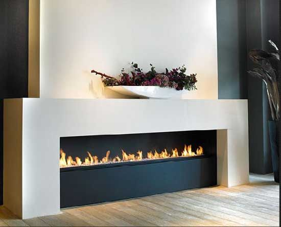 modern fireplaces -