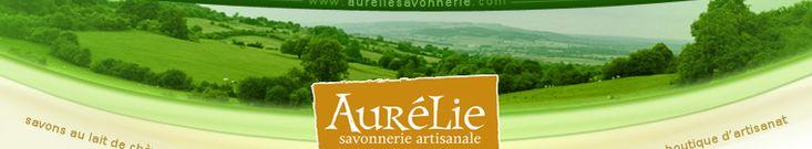 Entête du menu Aurélie Savonnerie Artisanale