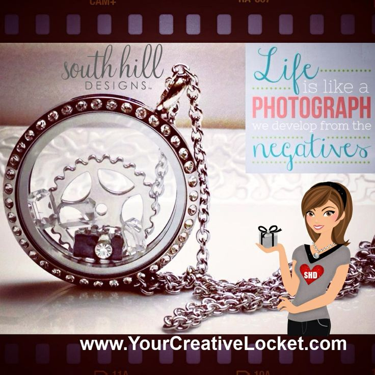 Love photography? Tell YOUR story with this perfect locket just for you. Shop anytime at www.yourcreativelocket.com #southhilldesigns #yourcreativelocket #photography #locket