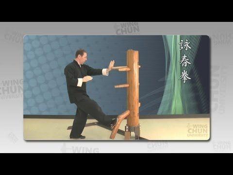 Foshan Wing chun wooden dummy - Full tutorial & Applications - YouTube