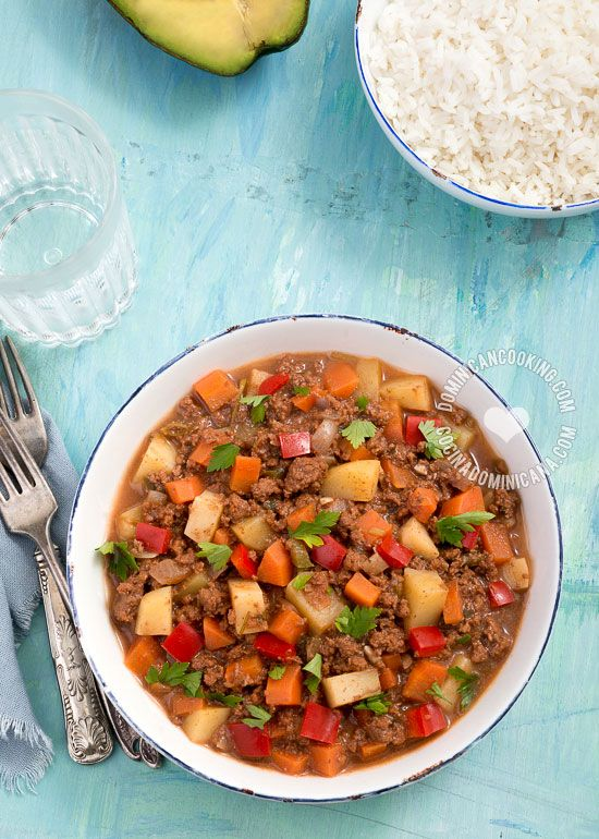 Receta Carne Molida Con Vegetales Recipe It Is Vegetables And Dishes
