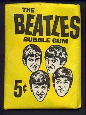 Beatles Bubblegum card pack