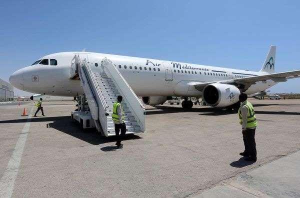 Ce lundi, un avion de la compagnie aérienne low cost Air Méditerranée a été dérouté vers Lyon (photo d'illustration).