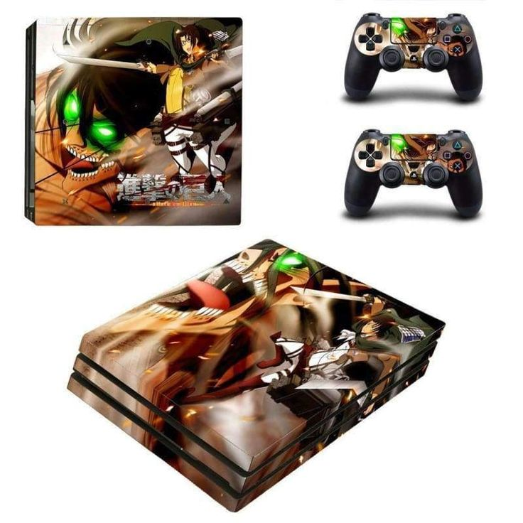 Attack on titan ps4 pro skin for playstation 4 pro console