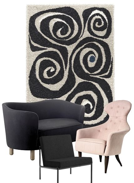 Kasthall Virvel Rug In Elle Decor SE