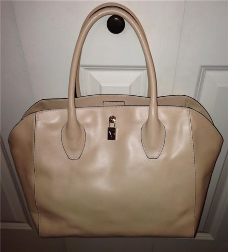 Auth $398 Furla Olimpia Cipria Light Nude Tote Bag Satchel Handbag Purse | eBay