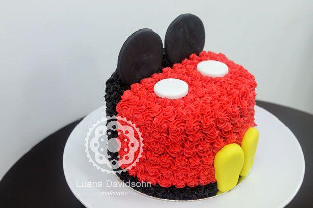 Bolo Decorado do Mickey « Confeitaria da Luana