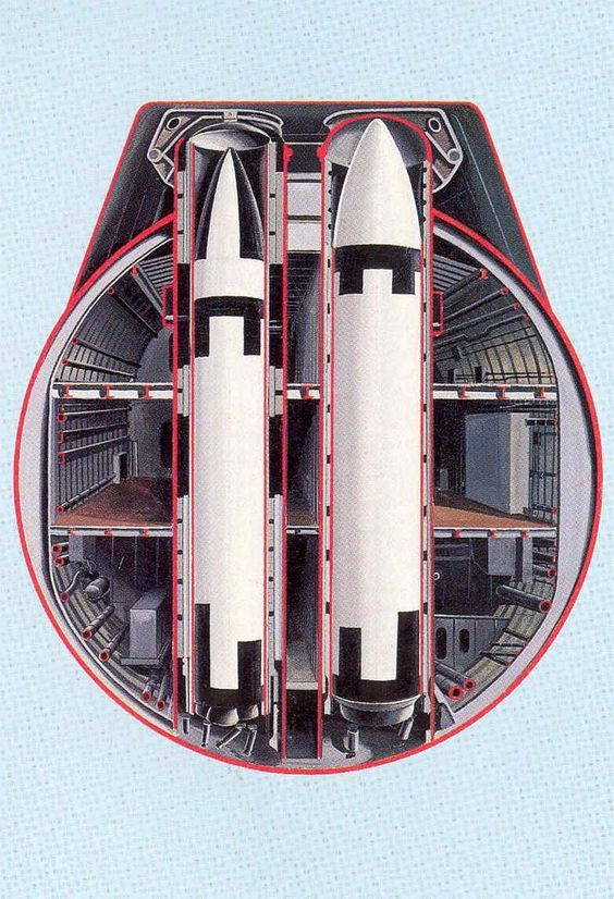 SUB ~ Trident Submarine cutaway at missile tubes ~ BFD