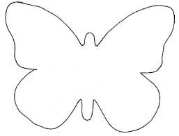 simple butterfly outline - Google Search | Template ...