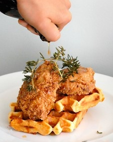 ... Waffles | Recipe | Buttermilk Fried Chicken, Fried Chicken and Polenta