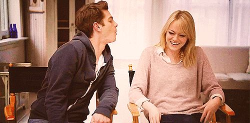 Could Andrew and Emma BE any cuter?