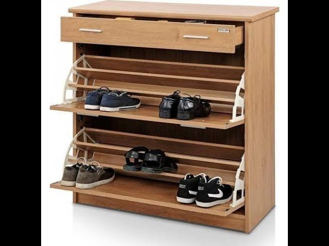 Creative Shoe Rack Ideas For Small Space In 2020 Space Saving Shoe Rack Wooden Shoe Racks Shoe Rack