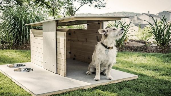Modern Dog Houses - Puphaus by Pryamid Design Co. is a Stylish Outdoor Abode for Man's Best Friend (GALLERY)