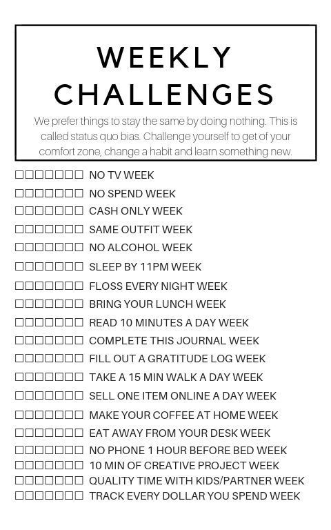 Love this! Great self challenge and a way to stay…
