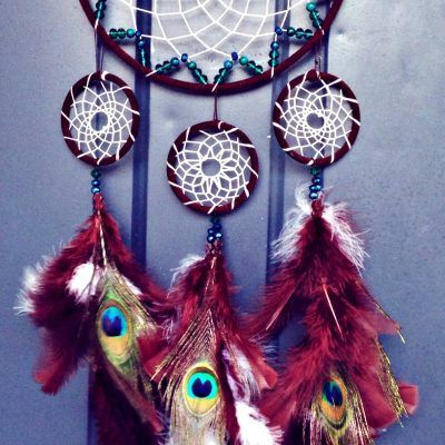 You're Not Dreaming: We Have Dream Catchers For Sale {Shown: Peacock DreamCatcher}