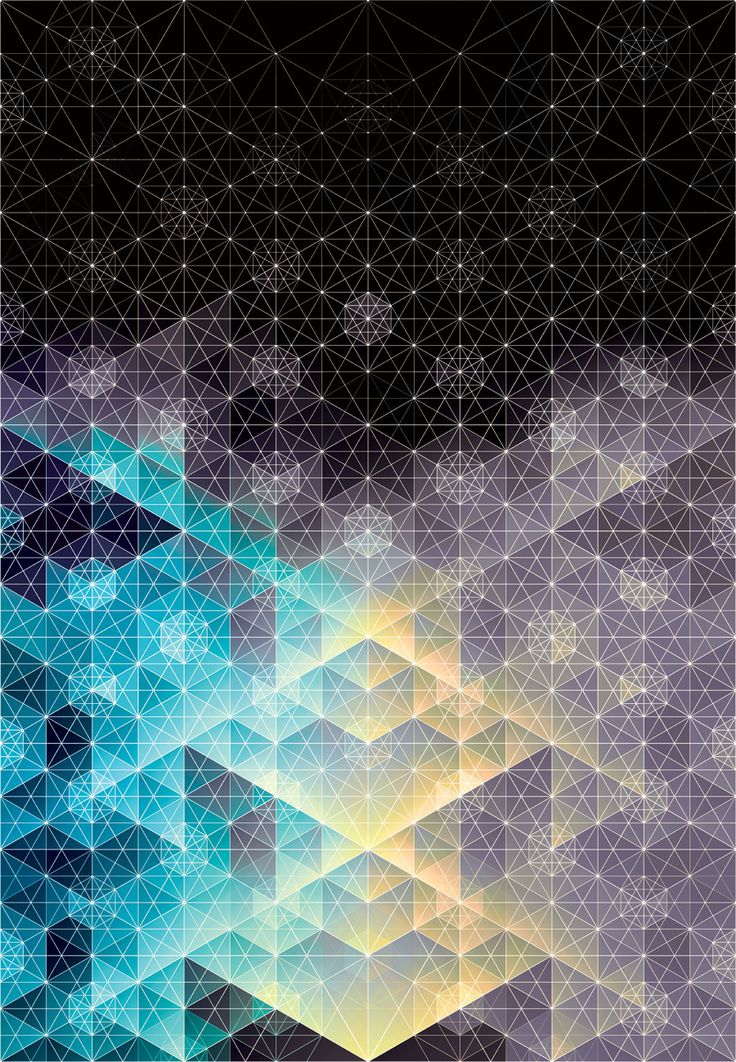 Beautiful geometric artwork #Inspiration