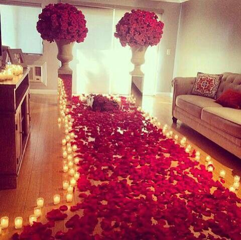 Living Room Romantic Setting Sooooo Romantic