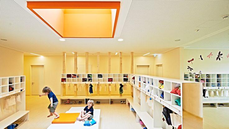 Kita auf Parkhaus in Nürnberg / Spielen auf Wolke 10 - Architektur und Architekten - News / Meldungen / Nachrichten - BauNetz.de